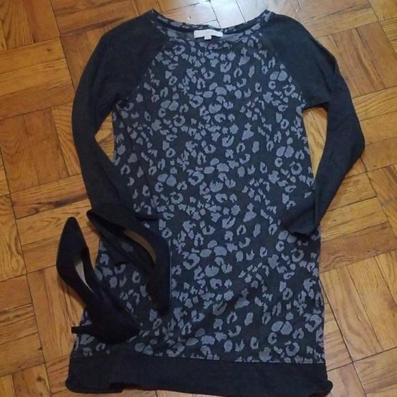 LOFT Dresses & Skirts - Loft Leopard Print Dress